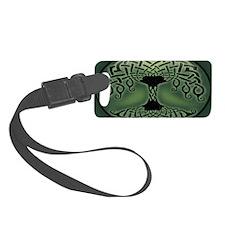 celtic-tree-OV Luggage Tag