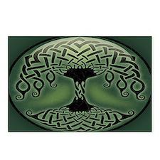 celtic-tree-OV Postcards (Package of 8)