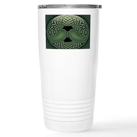 celtic-tree-OV Stainless Steel Travel Mug