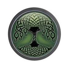 celtic-tree-BUT Wall Clock