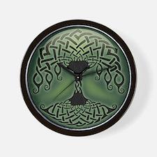 celtic-tree-BUT Wall Clock