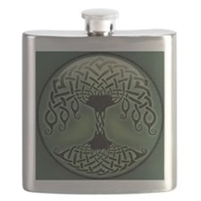 celtic-tree-BUT Flask