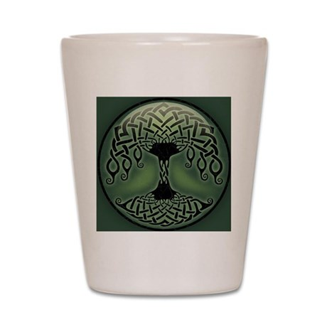 celtic-tree-BUT Shot Glass