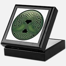 celtic-tree-T Keepsake Box