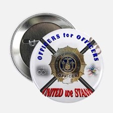 """OFFICERS FOR OFFICERS11 2.25"""" Button"""
