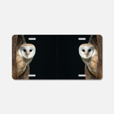 1- OWLS Aluminum License Plate