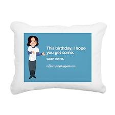 bday2 Rectangular Canvas Pillow