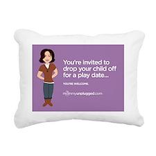 playdate2 Rectangular Canvas Pillow