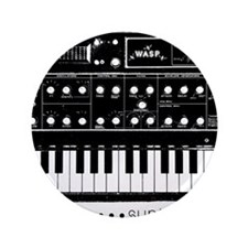 """Synthesizer 3.5"""" Button"""