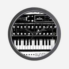 Synthesizer Wall Clock
