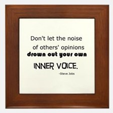 Inner Voice Framed Tile