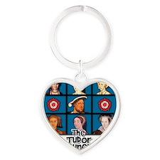 tudor bunch FINAL 2 Heart Keychain
