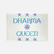 Dharma Queen Rectangle Magnet