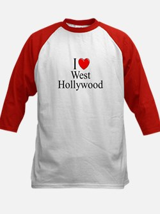 """I Love West Hollywood"" Kids Baseball Jersey"
