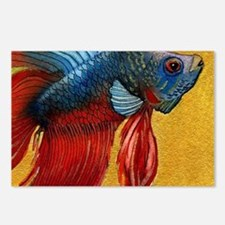 Beautiful Betta Fish Postcards (Package of 8)