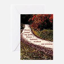 5x8_journal copy Greeting Card