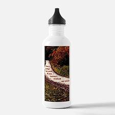 5x8_journal copy Water Bottle