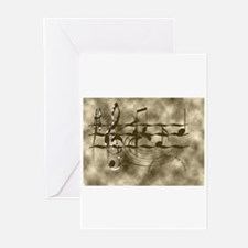 Unique Bands Greeting Cards (Pk of 10)
