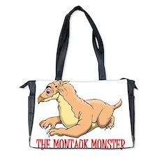 MONTAUK MONSTER RED STROKE Diaper Bag