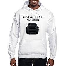 Stay at home slacker Hoodie