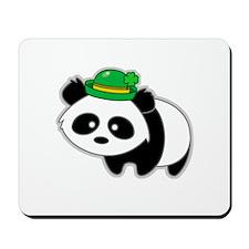 Irish Panda Bear Mousepad