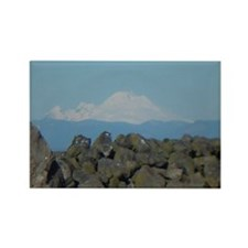 Mount Baker Rectangle Magnet