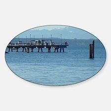 Edmonds Fishing Dock Decal