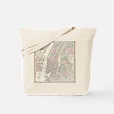 MapNewYork7100 Tote Bag