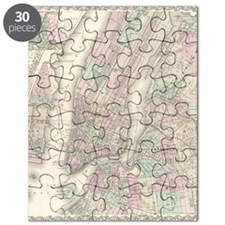 MapNewYork7100 Puzzle