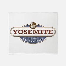 Yosemite National Park Throw Blanket