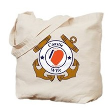 USCG SND 3 Wife Outlines Tote Bag