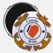 USCG SND 3 Wife Outlines Magnet