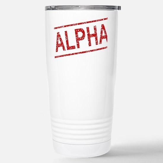ss-alpha Stainless Steel Travel Mug