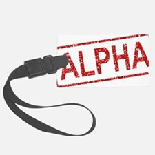 ss-alpha Luggage Tag