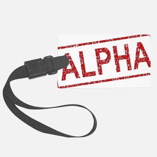 ss-alpha Luggage Tag