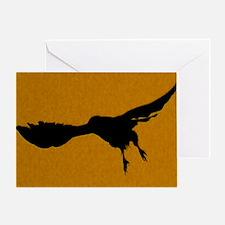 DOrangeFalcon Greeting Card
