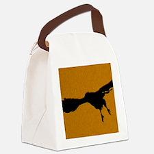 DOrangeFalcon Canvas Lunch Bag