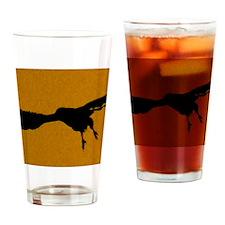 DOrangeFalcon Drinking Glass
