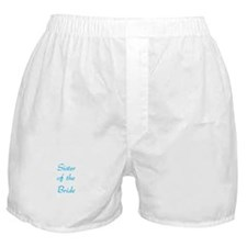 Sister of the Bride Boxer Shorts
