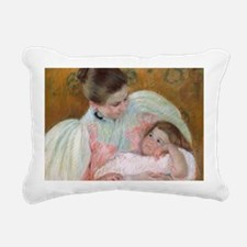 Cal Cassatt I Rectangular Canvas Pillow