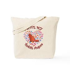 Love My Angora Tote Bag