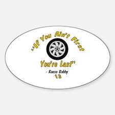 Taladega-Reese Bobby Oval Decal