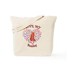 Love My Bombay Tote Bag