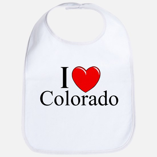 """I Love Colorado"" Bib"