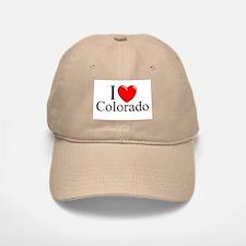 """""""I Love Colorado"""" Baseball Baseball Cap"""