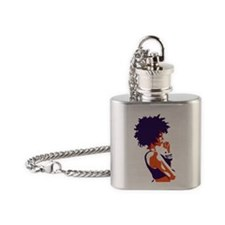 The Thinker Flask Necklace