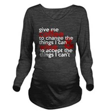 Give Me Coffee And Wine Humor Long Sleeve Maternit