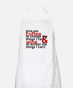 Give Me Coffee And Wine Humor Apron