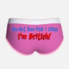 Bet Your Fish And Chips British Women's Boy Brief