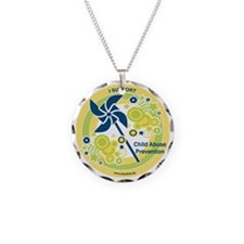Child Abuse Prevention Yello Necklace